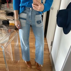 7 For All Mankind Alexa Cropped Jeans